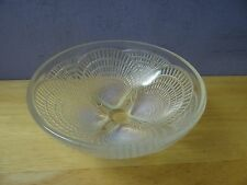 "R. Lalique 5.2"" Coquilles Opalescent Art Glass Shell Bowl, c1920 Signed & #'d"
