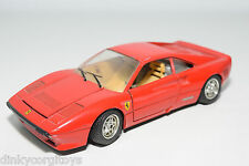 BBURAGO BURAGO FERRARI GTO 1984 RED EXCELLENT CONDITION