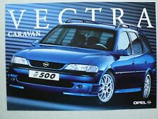 Prospectus opel vectra B Caravane i500, 1.1998, 2 pages