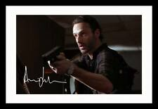 ANDREW LINCOLN - THE WALKING DEAD AUTOGRAPHED SIGNED & FRAMED PP POSTER PHOTO