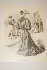 MODE GRAVURE BELLE EPOQUE 1905 COSTUME TAILLEUR  MD172