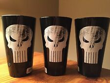 Marvel Punisher Pint Glass (Black)
