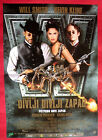 WILD WILD WEST 1999 WILL SMITH KEVIN KLINE S. HAYEK UNIQUE SERBIAN MOVIE POSTER