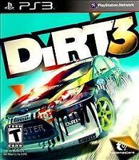 DIRT 3 PS3 NEW! CAR RACING, MUD, OFFROAD, RALLY, GEARS, WORLD, FUN FAMILY GAME!