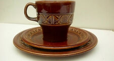 "Beswick Retro Style ""Zorba"" Cup Saucer and Side plate Trio"