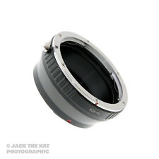 Pro Canon EOS EF to Fuji X Mount Lens Adapter. Adaptor for X-E1, X-Pro1 X-E2 etc