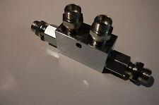 """Sperrventil Sperrblock hydraulisch Oberlenker 1/2"""" 50 l/min Verschraubung 15L"""
