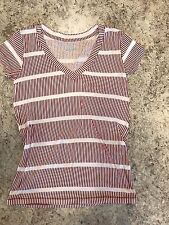 Urban Outfitters Small BDG Red And White Women's Shirt