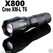 G700 Tactical Flashlight LED Militär Lumitact Alonefire Zoom Taschenlampe Fackel
