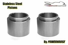 Kawasaki KZ 900 Z1-B 1975 front brake caliper piston stainless steel pair 75