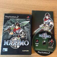 Maximo PS2 PlayStation 2 Game | PAL Complete | Capcom Hack & Slash Platformer
