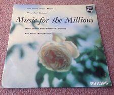 PHILIPS MINIGROOVE 422 517 NE MUSIC FOR THE MILLIONS NO.1 1E/2E HOLLAND PIC EXC