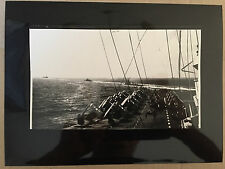 ww2 photo press U.S. carrier force plows through pacific after Formosa att   A54