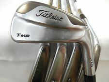 Titleist T-MB 716 5-PW Iron Set Dynamic Gold AMT S300 stiff flex steel Used Rh