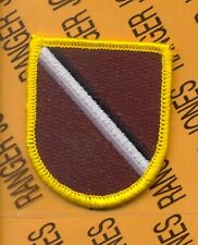 US Army Special Forces Warrant Officer Institute SFWOI beret flash patch m/e