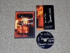 The Element of Crime Criterion Collection DVD 2000 Complete Lars von Trier