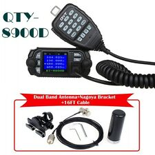 QYT 8900D Dual Band Radio Transceiver+HH-N2RS Antenna+Nagoya Mount+16FT Cable