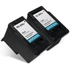 Recycled Canon PG-240XL CL-241XL for Canon PIXMA MG3220 MG3520 MX452 2PK