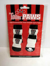 Licensed Texas Tech (Pack of 4) Dog Socks for Large Dogs + Free Shipping