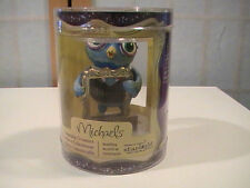 "2013 Starlight Children's Foundation Blue OWL  3"" Ornament Michaels New"