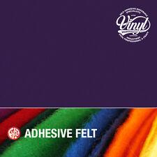 Violet feutre auto adhésif vinyle fablon-largeur 45cm vendu au mètre