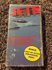 "Documentary ""Jets"" F-15 Eagle & F-16 VHS Video 1988"