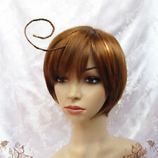 Brown Short Straight Cos Wig Axis Powers Hetalia APH South Italy Lovino Vargas