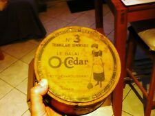 Boite Métallique Ancienne O' Cedar