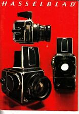 Hasselblad Camera System 1974 Booklet 500C/M SWC Lenses Accessories