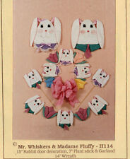 """Mr. Whiskers & Madame Fluffy"" Pattern Packet by Connie Broemmer~OOP"
