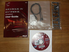 ASUS REPUBLIC OF GAMERS, Maximus IV Extreme, User Guide, Handbuch mit Treiber CD