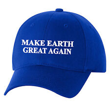 Make Earth Great Again Hat Cap Bill Maher Real Time Science Climate Change