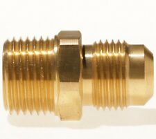 "BRASS PROPANE FITTING 1/2"" NPT X 7/8"" FLARE"
