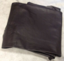 F7 Leather Cow Hide Cowhide Upholstery Craft Fabric Matte Brown 37 sq ft