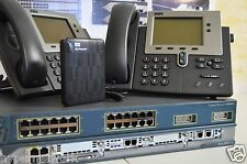 Cisco Voice Lab Kit  CCNA CCNP  CUCM 11 CME 8.6  VIC2-2FXO VIC2-2FXS PVDM2-48