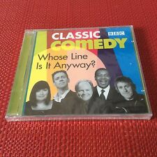 WHOSE LINE IS IT ANYWAY? Classic BBC Comedy 2xCD Audio NEW SEALED