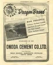 1953 Kanai Juyo Kogyo Shimadaya Onoda Cement