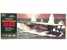 Hasegawa 1:450 Scale Japanese Aircraft Carrier Akagi Plastic Model Kit-Motorized
