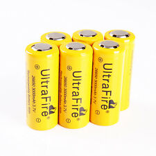 6 x 26650 3.7v Ultrafire Recharge Protection Circuit Li-ion Battery AU