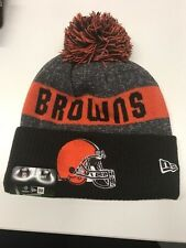 Cleveland Browns Knit On Field New Era Toque Beanie Player Sideline Hat Cap NFL