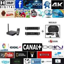 SMART TV BOX  MINIX U1 2GB RAM 16GB ROM PENTA CORE LOLLIPOP 5.1.1 CANAL + GRATIS