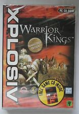 WARRIOR KINGS REMASTERED PC CD-ROM RTS GAME + FREE RACING GAME! new & sealed UK
