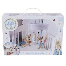 Peter rabbit flopsy musical cot mobile beatrix potter baby cadeau envoi rapide
