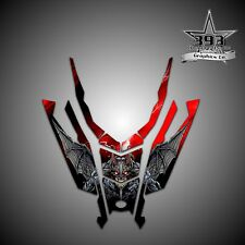 2015-2016 POLARIS AXYS Hood Decal Sticker Wrap Graphics Guardian Red