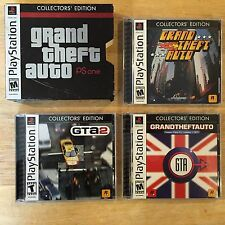 Grand Theft Auto Collector's Edition 1 2 London PlayStation 1 PS1 Games & Maps
