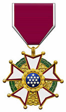 Framed Print - US Legion of Merit Legionnaire Military Medal (Picture Poster)