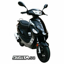 AJS Digita 50CC twist and go automatic learner legal scooter, moped