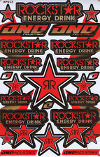 New Rockstar Energy Motocross ATV Racing Graphic stickers/decals. (st75)