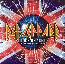 DEF LEPPARD - ROCK OF AGES: DEFINITIVE COLLECTION - 2 CD