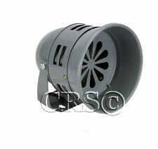 NEW 12 VOLT CIVIL AIR RAID SIREN HORN TORNDO ALARM MECHANICAL GENUINE SOUND LOUD